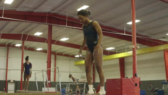 Olympic Gymnast Gabby Douglas Goes For Gold