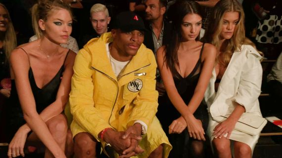 NBA Star Russell Westbrook's 5 Tips for a Winning New York Fashion Week. Swish!
