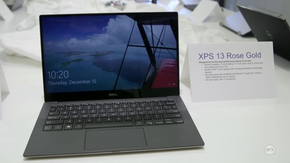 CES 2017: Dell XPS 13 2-in-1 laptop | Ars Technica