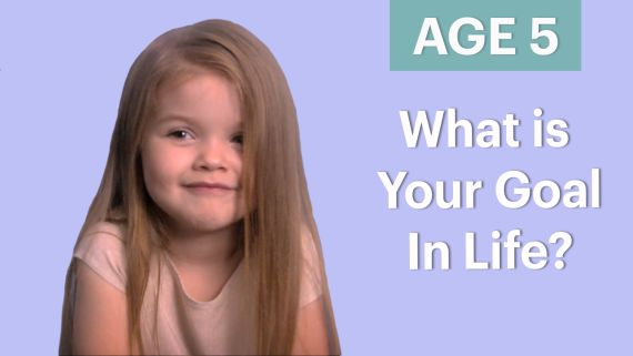 70 People Ages 5-75 Answer One Question: What's Your Goal In Life?