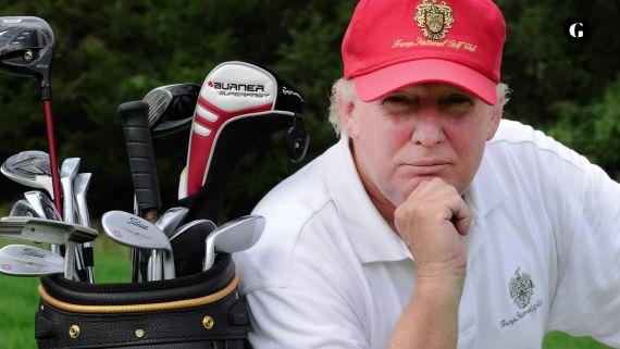 Donald Trump says golf should be an aspirational game