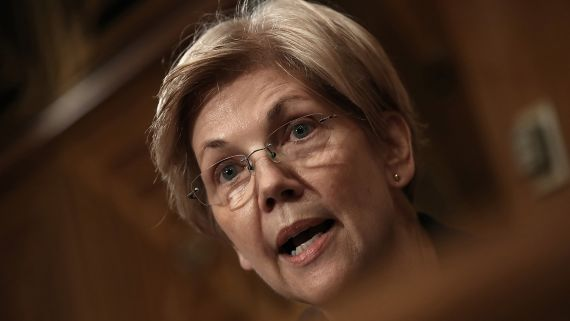 Elizabeth Warren Is Silenced By Senate