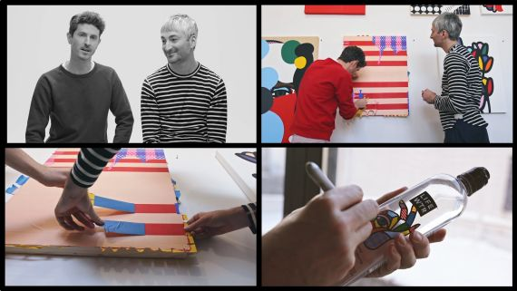 Inspired To Create, Series 1: Craig & Karl. Going to work with a transatlantic art & design duo
