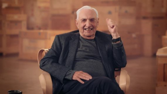 Take a MasterClass with World-Renowned Architect Frank Gehry