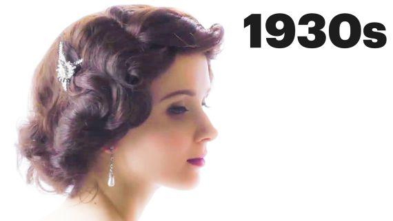 100 Years of Bridal Hair