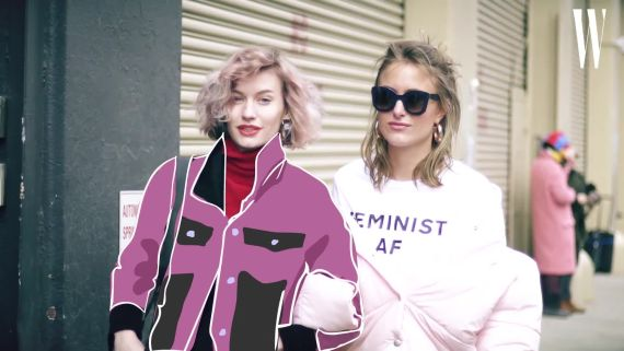 New York's Best Street Style Gets a Technicolor, Electrified, Animated Treatment