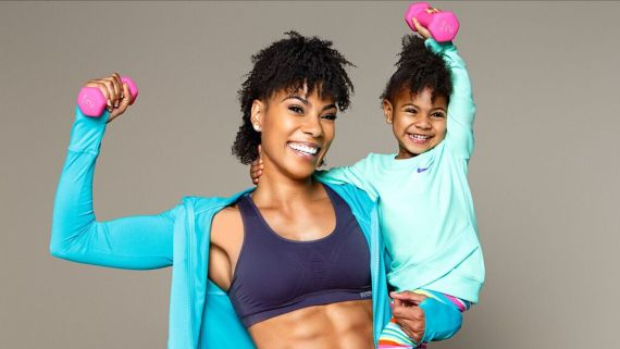 This Fit Mom Works Out With Her Toddler Daughter To Stay In Shape