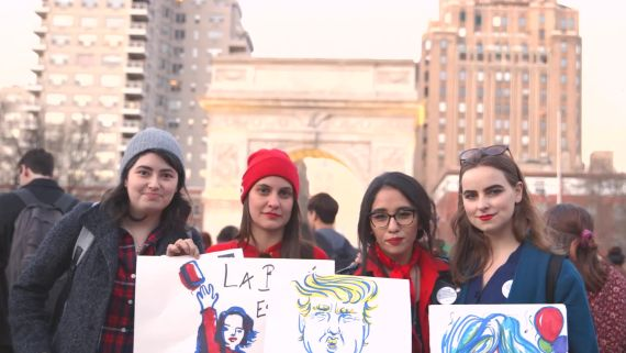 We Asked Women's Day Protesters What Beauty Means to Them