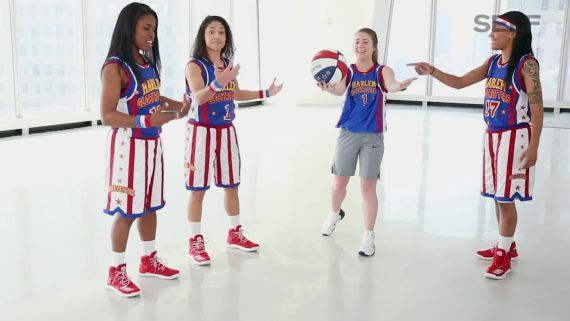 The Female Harlem Globetrotters Teach Us Their Best Moves