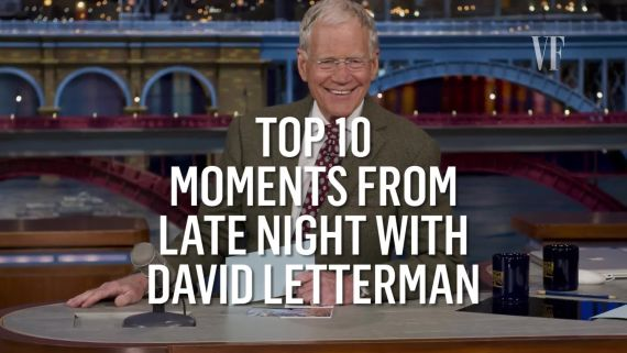 "Top 10 Moments from ""Late Night with David Letterman"""