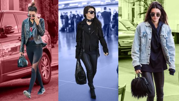 11 Ways to Up Your Leggings-As-Pants Game, as Demonstrated by the Jenners and Kardashians