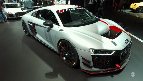 NYIAS 2017: Audi Sport Customer Racing R8 LMS | Ars Technica