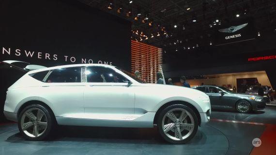 NYIAS 2017: Genesis GV80 concept fuel cell SUV | Ars Technica