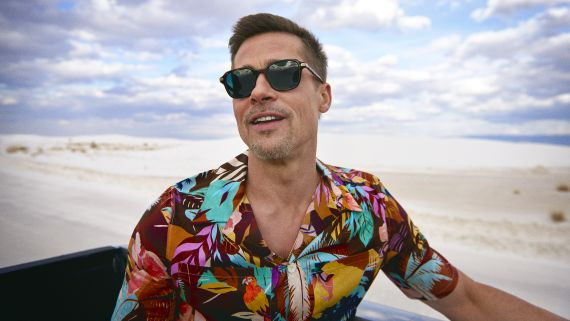 Brad Pitt Takes An Epic Road Trip Through America's National Parks