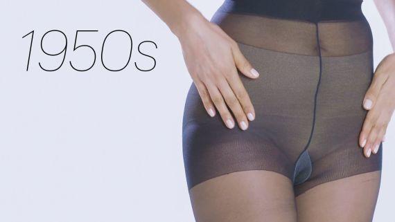 100 Years of Stockings, Leggings, and Pantyhose