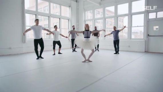 CrossFit Athletes Try Their Hardest to Keep Up with a Professional Ballerina—See How They Did