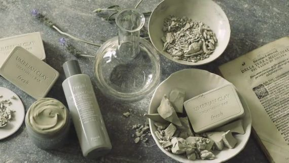 How Fresh Umbrian Clay Purifying Skincare Is Produced