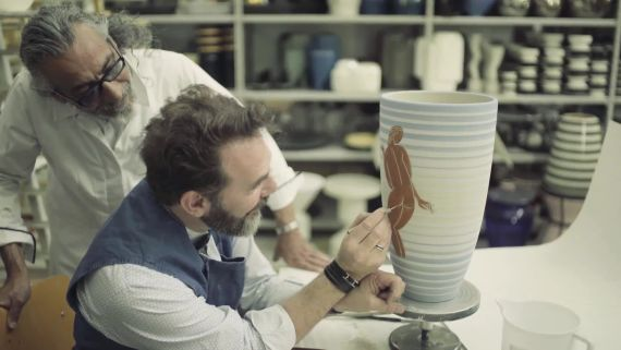 Go Behind the Scenes of the Ceramic Workshop that Collaborates with Fresh