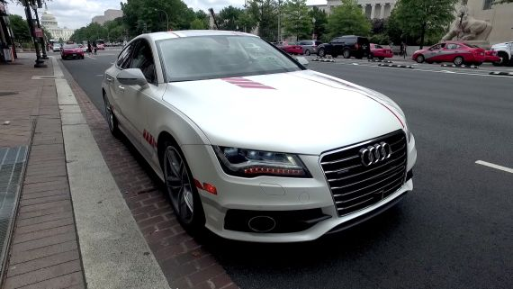 """Ars takes a ride in """"Jack"""" with Audi's piloted driving 