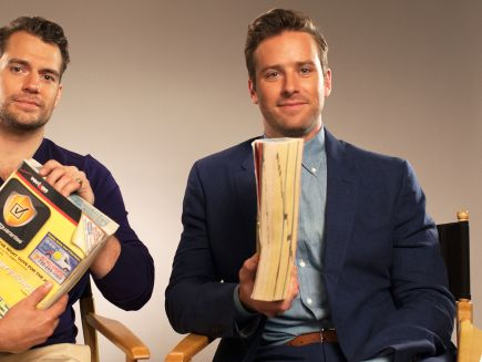 Watch Henry Cavill and Armie Hammer Make the Phonebook Sound Sexy