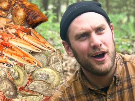 It's Alive with Brad - Brad Makes Campfire Seafood