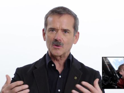 Chris Hadfield explains his 'Space Oddity' video