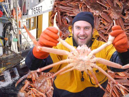 It's Alive with Brad - Brad Goes Crabbing In Alaska