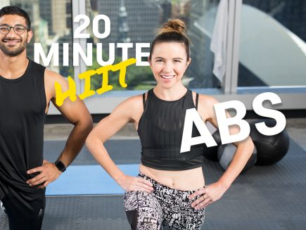 20-Minute HIIT Abs Focused Bodyweight Workout