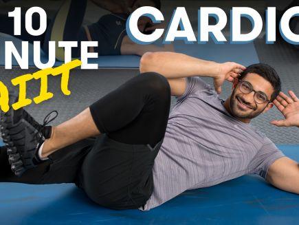 10-Minute Full-Body Tabata Cardio HIIT Workout