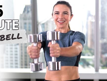 15-Minute Dumbbell Workout for All Levels