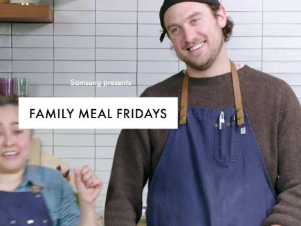 Family Meal Fridays: Gaby and Brad
