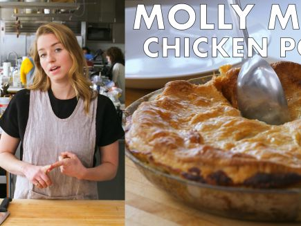 From the Test Kitchen - Molly Makes One-Skillet Rotisserie Chicken Pot Pie