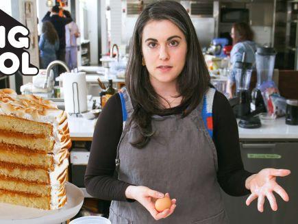 Bon Appétit's Baking School - Claire Bakes Layer Cake 3 Ways