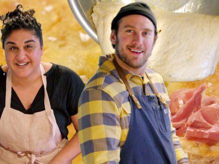 It's Alive with Brad - Brad Makes Focaccia Bread with Samin Nosrat