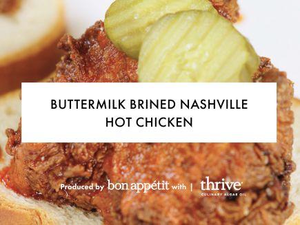 Buttermilk Brined Nashville Hot Chicken