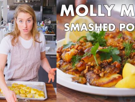 From the Test Kitchen - Molly Makes Crispy Smashed Potatoes