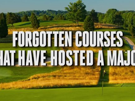Major Championships - Forgotten Courses That Have Hosted a Major