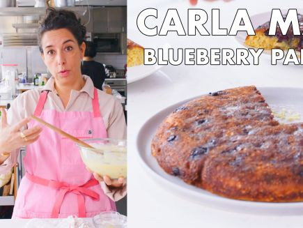 From the Test Kitchen - Carla Makes a Giant Blueberry Pancake