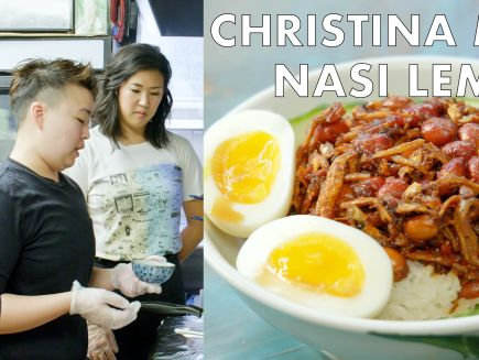 From the Test Kitchen - Christina Makes Nasi Lemak at Kopitiam