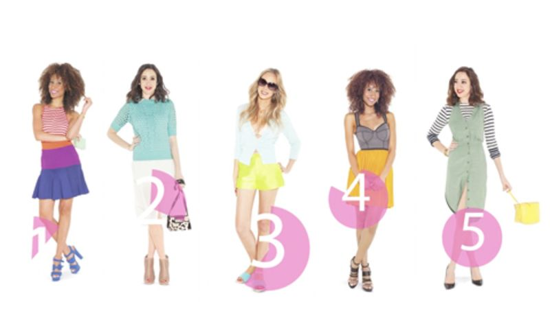 5 summer date night outfit ideas in 60 seconds - Fashion Design Ideas