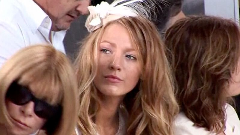 Watch Blake Lively Joins Anna Wintour at Fall 2010 Couture ...