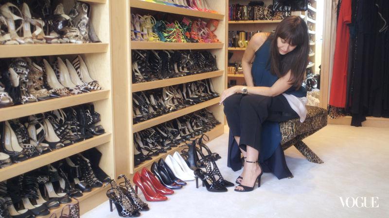 Watch On Set With Vogue Head Over Heels Inside Tamara
