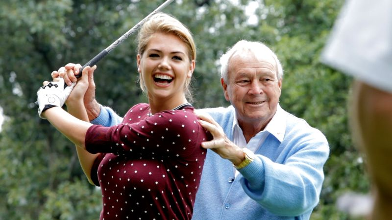 Watch Golf Digest Behind The Scenes Kate Upton Amp Arnold