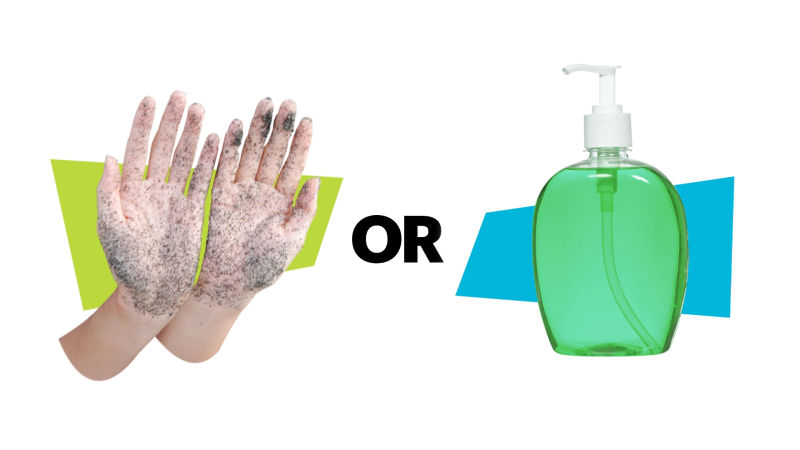 Alcohol-based Hand Sanitizers and Antibacterial Soaps