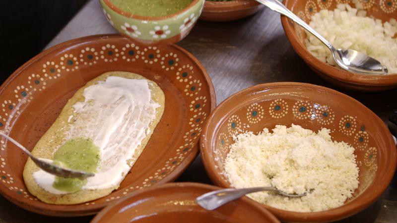Huaraches Mexican Food Recipe
