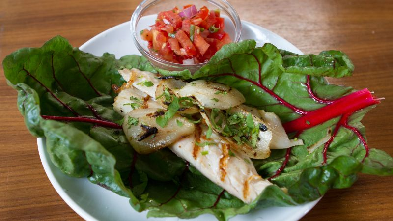 Watch treat yourself how to make healthy fish tacos for for How to make fish tacos