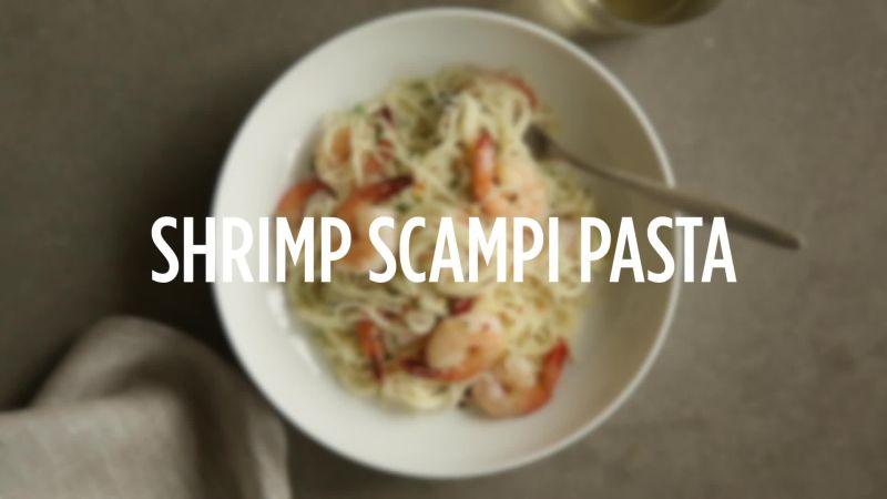 Watch How To Make Shrimp Scampi Pasta Epicurious Video Cne