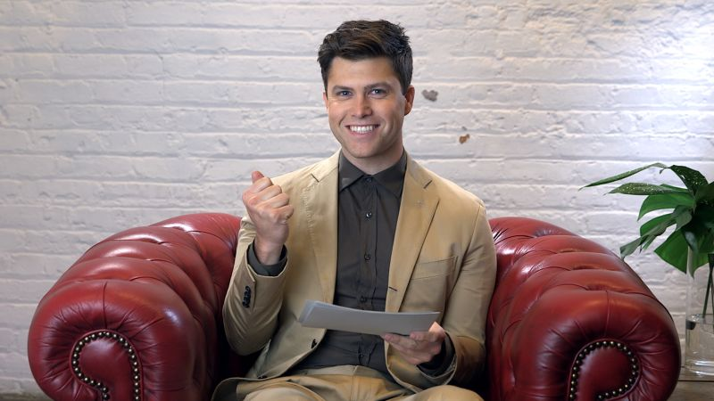 watch colin jost gets buttdialed by lorne michaels gq