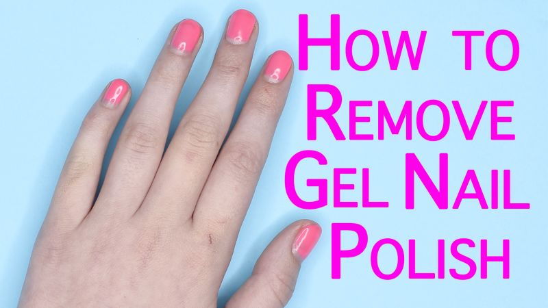 watch nail art tutorials how to remove gel nail polish. Black Bedroom Furniture Sets. Home Design Ideas