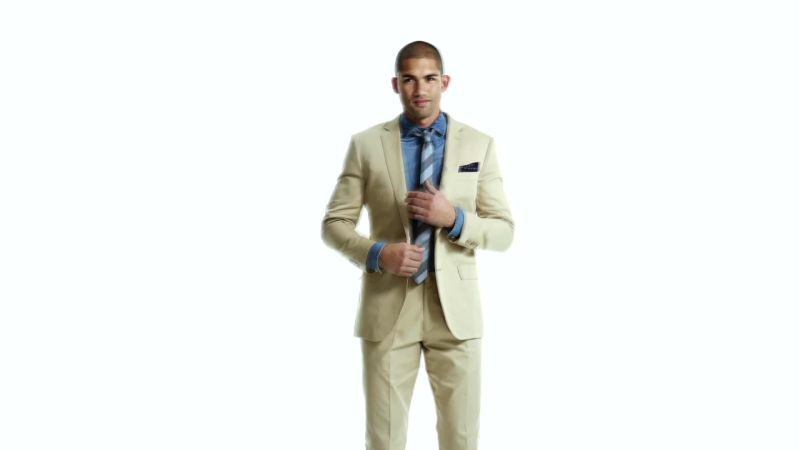 how to wear khaki suit